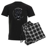 Black Labradoodle IAAM pajamas