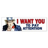 Uncle Sam: Classroom Bumper Sticker