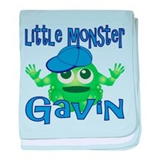 Little Monster Gavin baby blanket