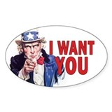 Uncle Sam - Restore the Repub Stickers