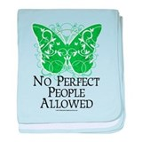 No Perfect People Allowed baby blanket