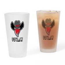 Outlaw Drinking Glass