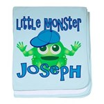 Little Monster Joseph baby blanket