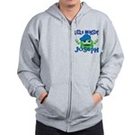 Little Monster Joseph Zip Hoodie