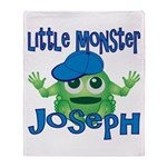 Little Monster Joseph Throw Blanket
