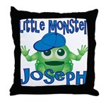 Little Monster Joseph Throw Pillow