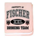 Fischer German Drinking Team baby blanket