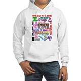 12 STEP SLOGANS IN COLOR Hoodie Sweatshirt