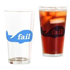 Fail Whale Drinking Glass