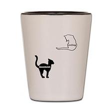 Basement Cat & Ceiling Cat Shot Glass
