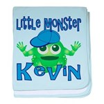 Little Monster Kevin baby blanket