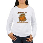 INDIANA BEAR Women's Long Sleeve T-Shirt