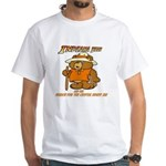 INDIANA BEAR White T-Shirt