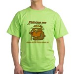 INDIANA BEAR Green T-Shirt