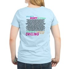 Logo Front - Drilling for it T-Shirt
