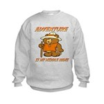 ADVENTURE BEAR Kids Sweatshirt