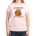 ADVENTURE BEAR Women's Light T-Shirt