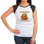 ADVENTURE BEAR Women's Cap Sleeve T-Shirt