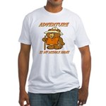 ADVENTURE BEAR Fitted T-Shirt