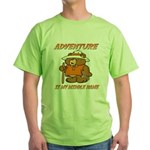 ADVENTURE BEAR Green T-Shirt