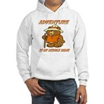 ADVENTURE BEAR Hooded Sweatshirt