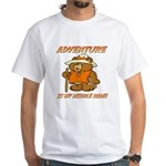 ADVENTURE BEAR White T-Shirt