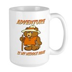 ADVENTURE BEAR Large Mug