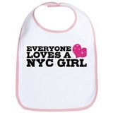 Everyone Loves a NYC Girl Bib