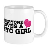 Everyone Loves a NYC Girl Small Mug