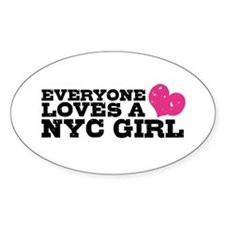Everyone Loves a NYC Girl Decal