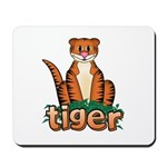 Cartoon Tiger Mousepad