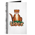 Cartoon Tiger Journal