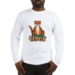 Cartoon Tiger Long Sleeve T-Shirt
