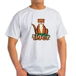 Cartoon Tiger Light T-Shirt