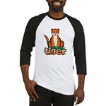 Cartoon Tiger Baseball Jersey