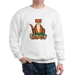 Cartoon Tiger Sweatshirt