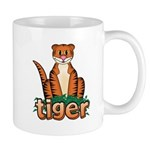 Cartoon Tiger Mug