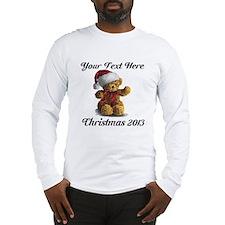 Christmas Teddy Long Sleeve T-Shirt