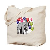 Elephant circus theme party Tote Bag
