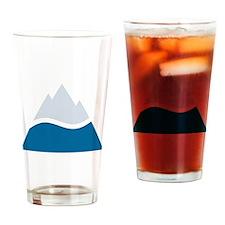 Unique White Drinking Glass
