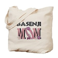 Basenji MOM Tote Bag