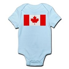 Canadian Flag Infant Creeper