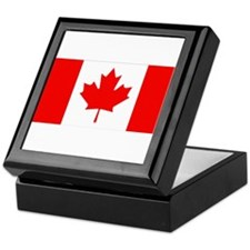 Canadian Flag Keepsake Box
