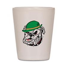 Irish Bulldog Shot Glass