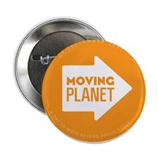 """2.25"""" Button - Moving Planet"""