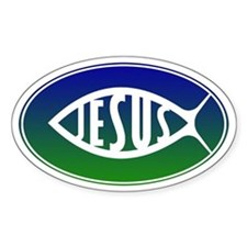 Jesus Fish Decal