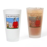 Flying Ace's Farewell Drinking Glass