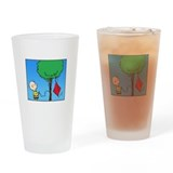The Kite Eating Tree Drinking Glass