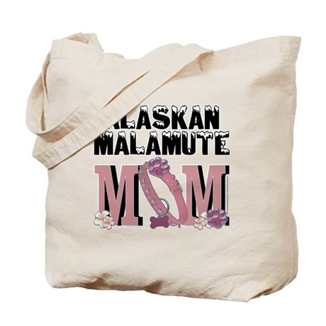Malamute MOM Tote Bag