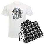 Cowboy moon Men's Light Pajamas